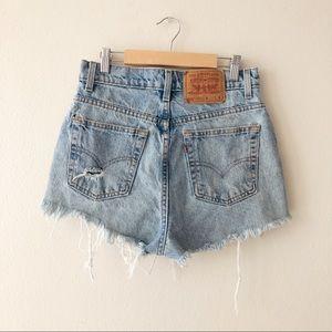 Vintage Levi Shorts 🦋